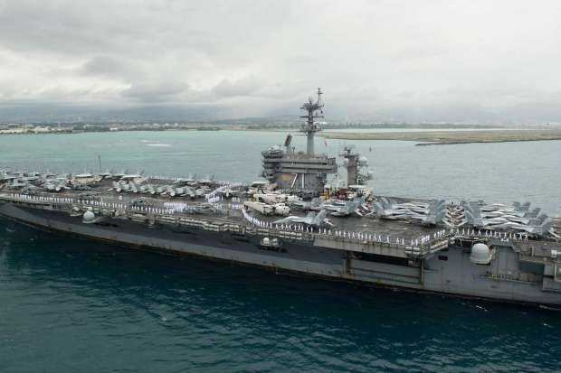 The USS Theodore Roosevelt 1