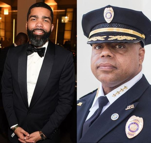 Chokwe Antar Lumumba [left], and james davis [right] 1