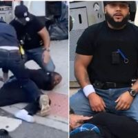 NY cop Francisco Garcia, two other officers face disciplinary charges over 'George Floyd-style' knee on the neck incident with a bystander while they conducted arrest on NY street