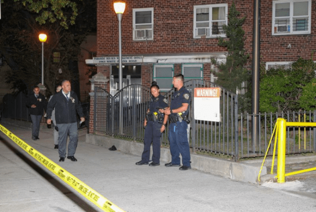 NYPD investigate the double homicide of Kevin Dillard and Arnelle Branchchildren 1