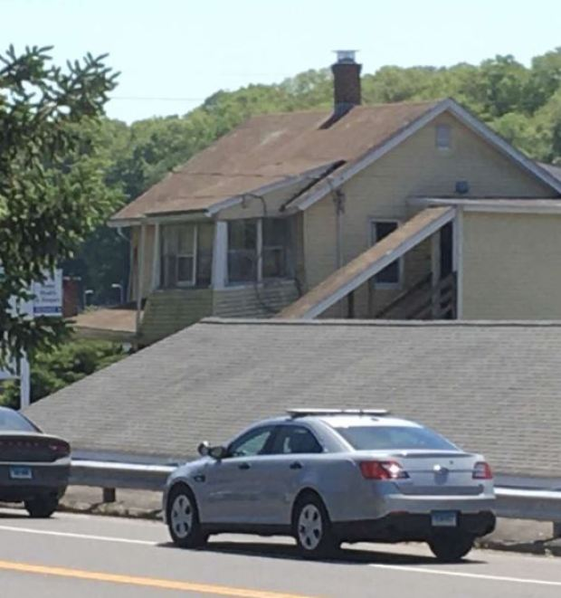 Peter Manfredonia crime scene in Willington, Connecticut 2