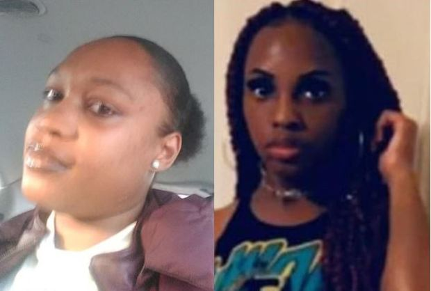 Brittany Tucker, [left], shot dead her neighbor Anteshia Logwood, [right],