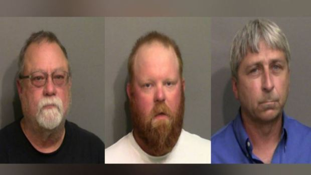 Gregory McMichael (left), Travis McMichael (center) and William Roddie Bryan (right) 1