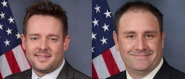 Jonathan Mattingly [left], and Myles Cosgrove 3