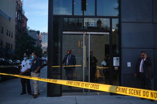 Fahim Saleh was kiled in this NY apt building 23