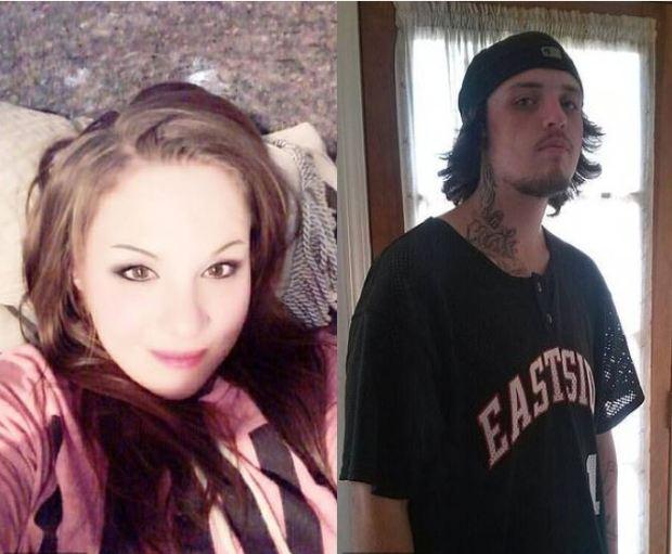 Jessica Lewis, [left], and her boyfriend, Austin 'Cash' Wenner, [right] 2