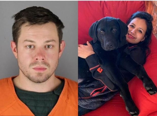 Joshua David Fury,[left], strangled his wife Maria Pew 1
