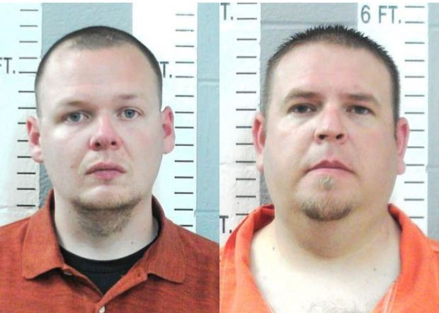 Joshua Taylor [left] and Brandon Dingman [right] 1