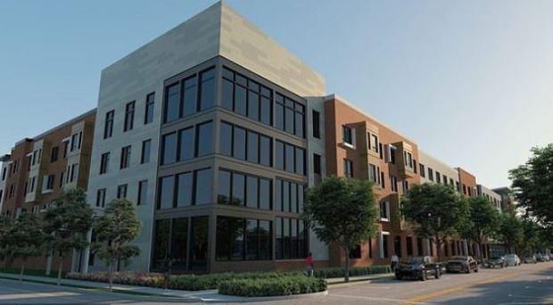 Rendering of the new buildings in the revitalized Beecher Terrace public housing development in Louisville 1