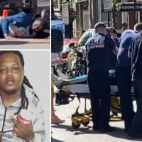Chicago rapper FBG Duck, 26, is shot dead in broad-daylight drive-by in ritzy neighborhood lined with designer boutiques, two others seriously injured