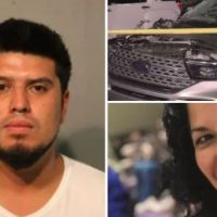 Chicago driver hit pedestrian, circled back for second fatal blow, before reporting his SUV stolen - Edgar Roman, 25, charged with murder, filing a false police report and fleeing the scene of an accident