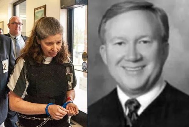 Rebecca Lynn O'Donnell, [left], also solicited the death of Phil Smith [right] 1