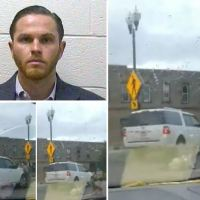 SUV driver, 37, is charged with 'mowing down a Black Lives Matter protester, 31, at a rally and leaving him with two broken legs' - Jared Lafer's attorney says hit-and-run 'is not a case about racism'