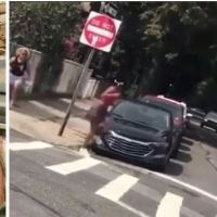 'Go back to Africa n*****!' Woman who screamed and  'hurled a glass bottle at a black jogger in NY arrested, faces hate crime charges