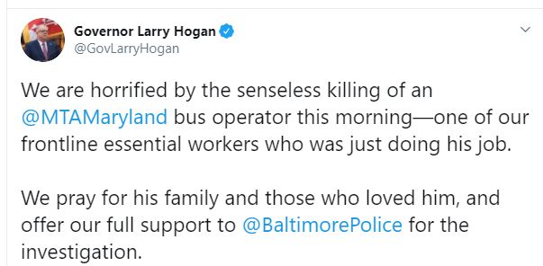 Male Female Suspects Arrested In Killing Of Baltimore Mta Bus Driver Marcus Parks Who Was Shot After He Refused To Let Gunman Board Then Gave Chase When Killer Snatched His Bag The safety of our employees and our riders is mdot mta's highest priority. baltimore mta bus driver marcus parks
