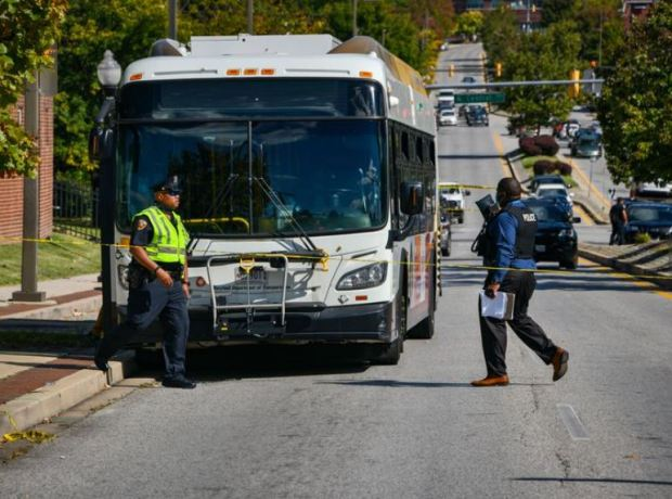 Male Female Suspects Arrested In Killing Of Baltimore Mta Bus Driver Marcus Parks Who Was Shot After He Refused To Let Gunman Board Then Gave Chase When Killer Snatched His Bag I've ridden on buses that were full to the point people stand against the front windows, which is against federal guidelines. baltimore mta bus driver marcus parks