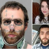 Tattooed Texan, brother and sister-in-law face the death penalty for randomly shooting at people in their cars on Thanksgiving day -  11-hour gun rampage across Nevada and Arizona left one man dead, at least four wounded