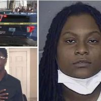 Woman, 21, 'tracks down her 16-year-old brother's suspected murderer, 36, in Kansas city and kills him' before sending a text to her late sibling saying 'owe 'em that body'