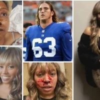 Domestic violence survivor Alleah Taylor shares horrific images from alleged assault by her ex, former Seahawks lineman, Chad Wheeler, who she said choked and beat her during a 'manic episode'