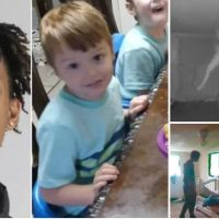 Footage from baby monitor shows kidnapper, Darriynn Brown, came back at daybreak for Cash Gernon's twin brother, two hours after the four-year-old was taken from the same bed and murdered, but was spooked and fled