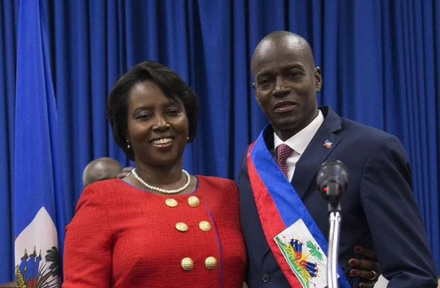 This image has an empty alt attribute; its file name is Jonevel-Moise-and-his-wife-Martine-Moise-2.jpg