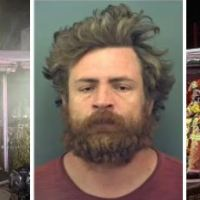 Texas man, set his house on fire, killing his brother and injuring his 82-year-old mother 'because they didn't follow the Bible' -  Phillip Mills, 40, is facing homicide charges after the arson he created killed his brother