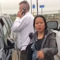 'Racist' white man calls police on an indigenous Canadian woman because he assumed she was trying to steal her own car from Walmart parking lot