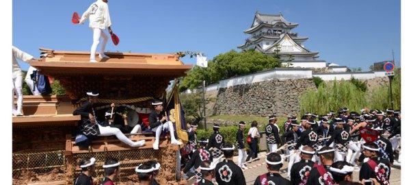 岸和田だんじり祭 ブログ 岸城神社宮入 岸和田城