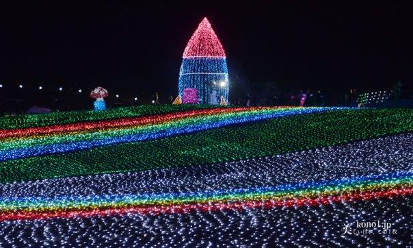 千葉県 東京ドイツ村 夜景 関東三大イルミネーション 袖ケ浦市 テーマパーク