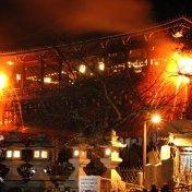 奈良 火祭 東大寺 二月堂  お水取り 松上げ 小浜