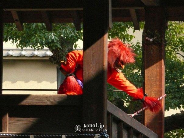 京都 壬生寺 節分 護摩焚 壬生狂言 ほうろく割 焙烙割 大念仏 山伏