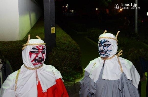東京 浅草寺 温座秘法陀羅尼会 鬼 亡者送り 2月18日