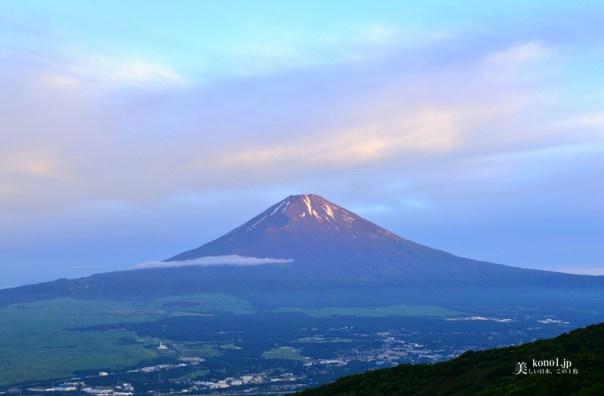 伊豆半島から見える富士山 箱根スカイライン