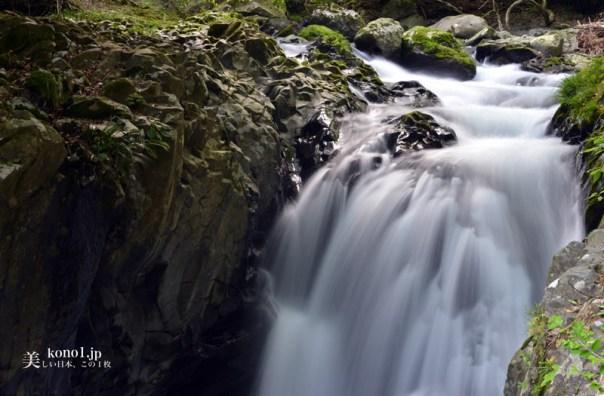 静岡県河津町 河津七滝 伊豆ジオパーク 出会滝