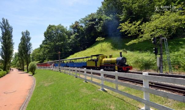静岡県伊豆市修善寺 虹の郷 日本庭園 しょうぶ園 ロムニー鉄道