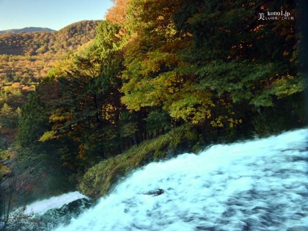 栃木県 日光 湯滝 湯ノ湖 湯元温泉 絶景 紅葉 硫黄の匂い