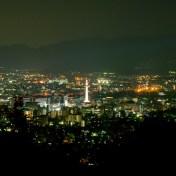 京都市 青蓮院大日堂 紅葉 夜景