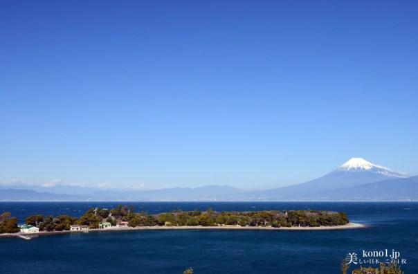 沼津市 大瀬崎 富士山 海 絶景