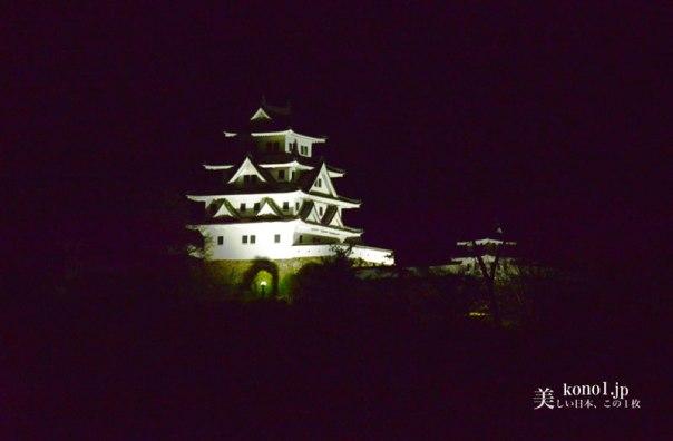 岐阜県郡上八幡  郡上八幡城 日本最古の木造再建城