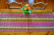 "7. $40.00 Measure: 17.5"" x 60"" (plus fringe) Hand washable. Amount available: 1 unit From San Gaspar Chajul, Quiché. Woven by Ixil-Maya women, of Asociación Chajulense."