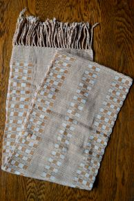 "$30.00 Measure: 10"" x 62.5"" (plus fringe) Very Soft. Hand washable. Amount available: 1 unit From San Juan la Laguna, Sololá. Woven by Tz'utujil-Maya women, of Asociación Comunitaria Ixoq Ajkeem. Products are made with natural dyes with the women themselves staining the raw threads with colors extracted from carrots, allspice, fuchsia, annatto seed, avocado leaves, sacatinta, hilamo, guachipilin, and St. John's Wort among others."
