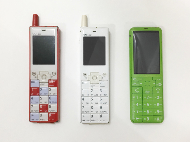 INFOBARという人気の携帯電話