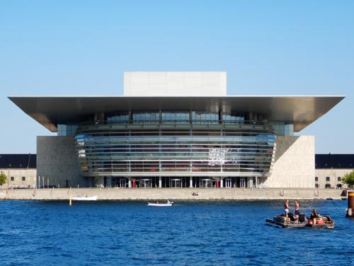 コペンハーゲンのオペラハウス