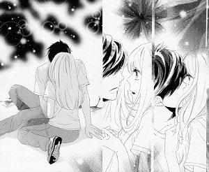 ひとり山に取り残されたののかを迎えに来た桐山。「ほんとに奨平とつきあってるの?」とののかに2度目のキス!