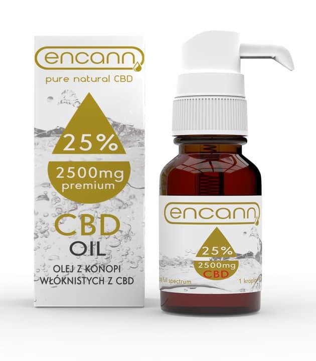 Olej CBD Encann 25%