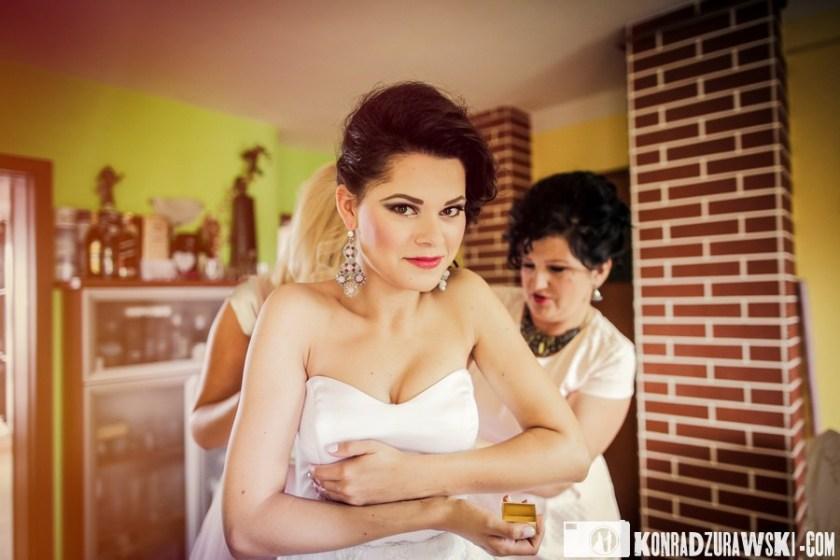 zdjęcia ślubne Lubin