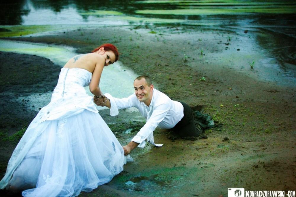 błotko ślubne