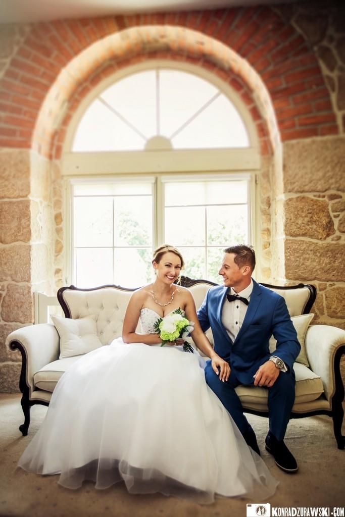 Państwo Młodzi przed ślubem - czy takie spotkanie przyniesie szczęście?  Konrad Żurawski