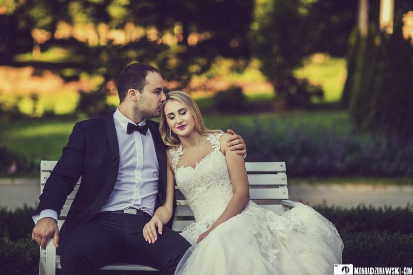 Magda i Marcin razem podczas sesji zdjęciowej | Fotograf ślubny Konrad Żurawski