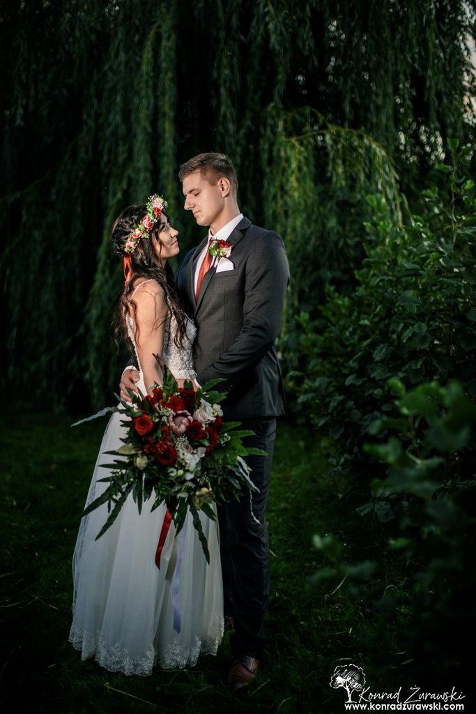 Ach te spojrzenia - fotografia ślubna Jelenia Góra